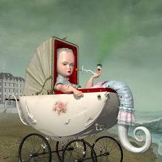"Ray Caesar. Castor, 2005. Glicee print on premier art hotpress, 22 x 22""."