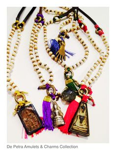 De Petra Charms & Amulets Collection wear one or more.