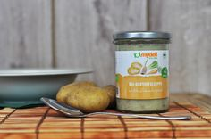 Bei der vegetarischen Mydeli Bio-Kartoffelsuppe kommen alle Zutaten aus ökologischem Anbau. Für einen unvergleichlichen Geschmack wie hausgemacht.