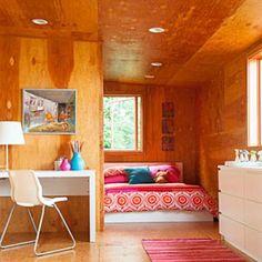 Scandinavian-style bedroom