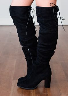 c8c5494a7d1 Back It On Up Over the Knee Boots Black