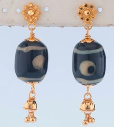 Innovative and light weight earrings from the gold factory