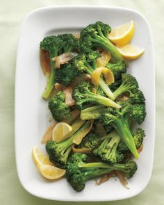 "See the ""Lemony Braised Broccoli"" in our Broccoli Recipes gallery"