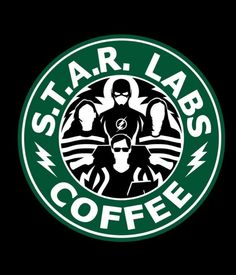 Star Labs coffee 'The Flash' Batwoman, Nightwing, Arrow Serie, Arrow Flash, O Flash, Flash Art, Red Hood, The Flashpoint, Heros Comics