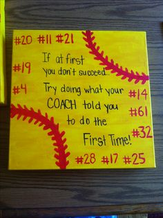 Ideas sport quotes for girls softball life for 2019 Senior Softball, Softball Uniforms, Softball Party, Softball Drills, Softball Crafts, Softball Quotes, Softball Shirts, Softball Players, Girls Softball