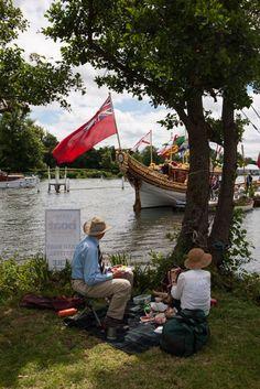 The Traditional Boat Festival, Henley-on-Thames, July 2016 © Mark Cockerton http://www.loeildelaphotographie.com/en/2016/07/25/article/159915643/mark-cockerton/