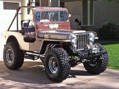 Off-Road Jeep is ready to go! Jeep Willys, Cj Jeep, Jeep Pickup, Jeep Truck, Mini Van, 4x4, Jeep Scout, Badass Jeep, Vintage Jeep