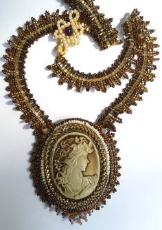 Another shot of the Victorian Cameo by Sharon A. Kyser