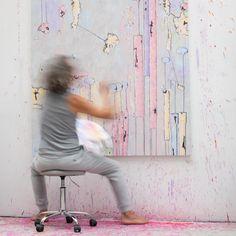 Acryl auf Leinwand 200x150cm * * * * #alexanderhuemer #contemporary #contemporaryart #contemporarypainting #passion #austrianpainters  #painting #paintigs #paintingoftheday #kunst #art  #fineart #artwork #dailyart  #artiststudio  #abstractfigurative #abstractart #modernart #abstractartist #artist #artistoninstagram #artinstagram #artgram #instaart #artcollector #artcollection #galleries #collectors #studio #atelier Studio, Painting, Atelier, Abstract, Canvas, Painting Art, Kunst, Studios, Paintings
