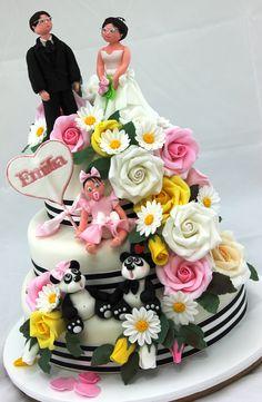 wedding cake Tort nunta si botez