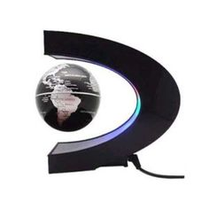 C shape Decoration Magnetic Levitation Floating Globe World Map LED Light cgh Electronic Gadgets For Men, Mens Gadgets, High Tech Gadgets, Electronics Gadgets, Magnetic Toys, Magnetic Field, Great Gifts For Guys, Floating Globe, Magnetic Levitation