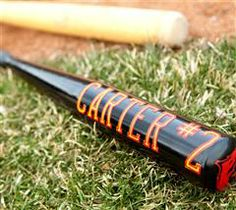 Personalize your baseball bat with this fun project!