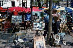 vintage everyday: Colour photographs of Paris, 1960s