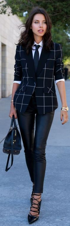 40 Perfect Blazer Outfits to Try This Winter - Fashion 2016