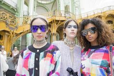 Chanel S/S 2016  @backstageat  See more @voguemagazine: http://bkstge.at/PFW-PHOTO-DIARY-VOGUE