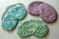 make it yourself: lavender sleep mask FREE pattern Lori Miller Designs