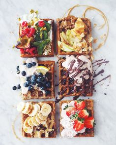 this the prettiest vegan food ever? Waffling on: Who would have thought that sweet treats such as waffles are now on the menu for vegans?Waffling on: Who would have thought that sweet treats such as waffles are now on the menu for vegans? I Love Food, Good Food, Yummy Food, Food Goals, Aesthetic Food, Food Inspiration, Foodies, Food Porn, Food And Drink