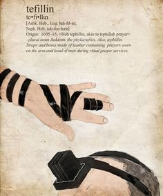 dress practices in my culture that jeopardize health- tefillin (blood flow) Cultura Judaica, Arte Judaica, Israel Palestine, Jerusalem Israel, Learn Hebrew, Hebrew Words, Jewish History, World Religions, We Are The World
