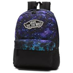 Shop Realm Divide Backpack today at Vans. The official Vans online store. Galaxy Backpack, Backpack Purse, Bags For Teens, Girls Bags, Mochila Galaxy, Vans Rucksack, Cute Mini Backpacks, Vans Bags, Mini Mochila