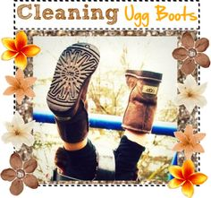 """""""How to: clean Ugg boots!"""" by totally-tipsy-girls ❤ liked on Polyvore"""
