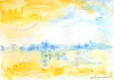yellow blue paintings - Google Search