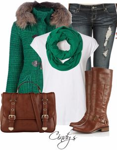 Get Inspired by Fashion: Winter Outfits | Green