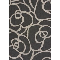 Flat-weave Terrace Lindsay Silver Indoor/Outdoor Area Rug (5'3 x 7'6) | Overstock.com Shopping - The Best Deals on 5x8 - 6x9 Rugs