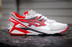 ASICS Gel-Kayano Trainer - Grey/White/Fairy Red | Sole Collector