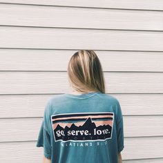 Comfort Colors T-Shirt Patagonia Inspired Missions by shopmissions