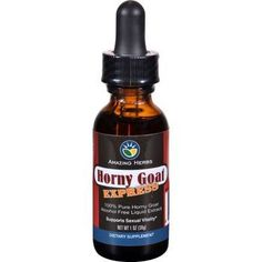 Black Seed Liquid Extract Horny Goat Express 1 oz