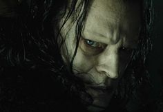 Brad Dourif in the role of the Grima Wormtongue (The Lord of the Rings)