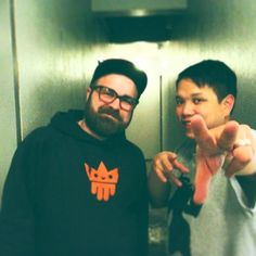 Meeting Kid Koala after a sensational gig at Kampnagel 2013 #kidkoala #svolanski #kampnagel #turntablism #backstage #kingdrips by svolanski76 http://ift.tt/1HNGVsC