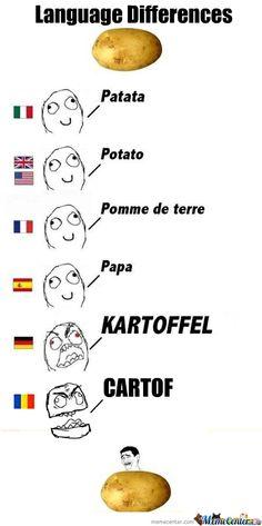 Language differences_Potato