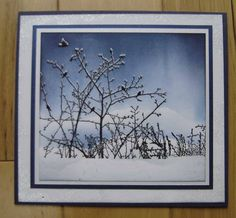 Heather T's Winter Ledge tutorial by stiz2003 - Cards and Paper Crafts at Splitcoaststampers
