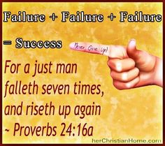 failure=success
