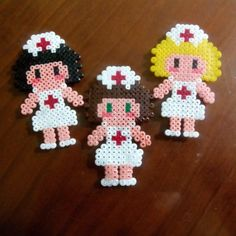 Nurses hama beads by meerrcediitass