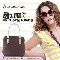 Constructed from pure and durable leather, this handbag will allow you to keep all your essentials in order. Long lasting, light in weight and easy to maintain.  http://leathertalks.com/product/quinn-4/