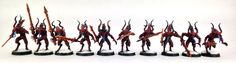 My second Bloodletter squad completed for my Khorne Daemonkin army for Warhammer 40K.