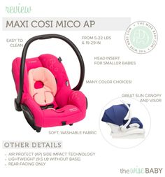 Maxi Cosi Mico AP Car Seat Review • The Wise Baby