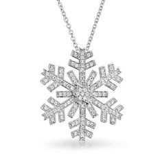 Bling Jewelry CZ Large Snowflake Winter Holiday Pendant Necklace 16in Bling Jewelry, http://www.amazon.co.uk/dp/B00GGX1EQ4/ref=cm_sw_r_pi_dp_xPnNsb0JAJ1GZ