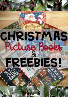 9 Picture Books for Christmas with Free Resources Library Lesson Plans, Library Skills, Library Lessons, Library Ideas, Christmas Books For Kids, Christmas Activities For Kids, Christmas Pictures, Christmas Stuff, Christmas Ideas