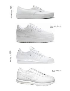 Why so many fashion related posts this week? I think it's the change of seasons making me want some new things for my wardrobe. And new white sneakers, that I need! Here are a few I'm thinking of vans
