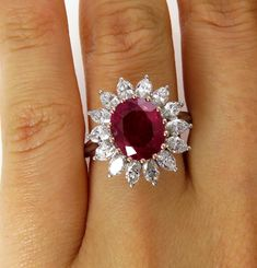 Diamond Engagement Ring Vintage solid gold Radiant cut engagement ring wedding women Bridal set Jewelry Promise Anniversary gift for her - Fine Jewelry Ideas Ruby Jewelry, Dainty Jewelry, Turquoise Jewelry, Bridal Jewelry, Fine Jewelry, Fancy Jewellery, Jewelry Sets, Handmade Jewelry, Artisan Jewelry