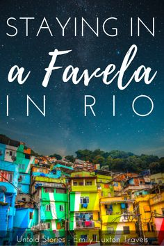 Untold Stories: Staying in a Favela in Rio. The short, funny story of the time my hostel room door was broken down in the middle of the night by some bunk-bed-building trespassers! Travel Advice, Travel Tips, Rio Brazil, Vacations To Go, Brazil Travel, South America Travel, Bunk Bed, Funny Stories, Plan Your Trip