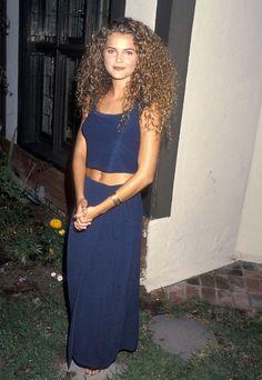 Keri Russell, Then Keri Russell Hair, Keri Russell Style, 90s Fashion, Fashion Outfits, Natural Hair Styles, Long Hair Styles, Curled Hairstyles, Short Hairstyles, Dream Hair