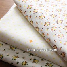 SALE)w426 - scrap bundle - double gauze fabric - floral - 3 pieces x ( 45cm x 47cm ) by billycottonshop0413 on Etsy