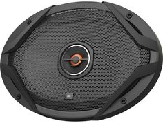 "JBL - 6"" x 8"" 2-Way Coaxial Car Speakers with Polypropylene Cones (Pair) - Black - Left"