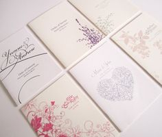wedding church booklet covers - Google Search
