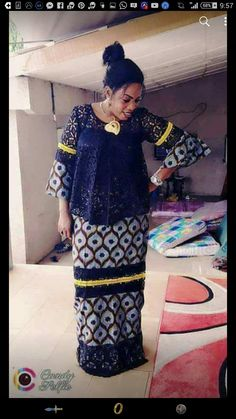 Recorded for you by Romance T Source by claysmak African Attire, African Wear, African Fashion Dresses, African Women, African Dress, Fashion Outfits, Kente Styles, African Traditional Dresses, African Lace