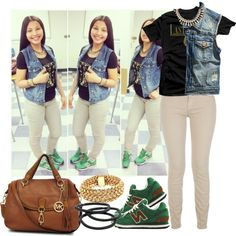 School Swag, created by blasianmami16 on Polyvore